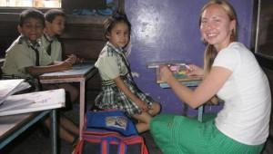 teaching English volunteer program
